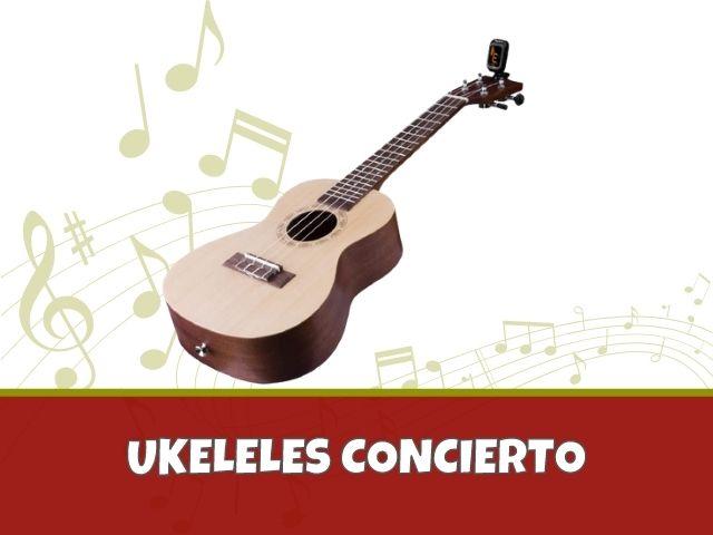 Mejores Ukeleles Concierto